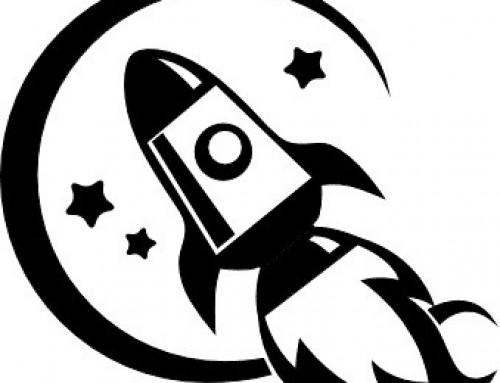 Mon communiqué de presse est une fusée spatiale