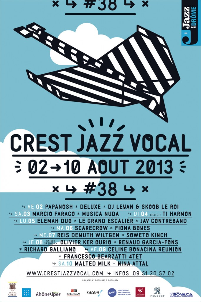 Affiche Crest Jazz Vocal 2013