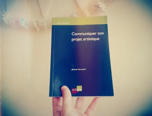 Communiquer son projet artistique – (non marchand)