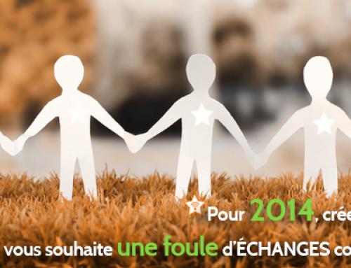 Bonne année 2014 à toutes et tous !