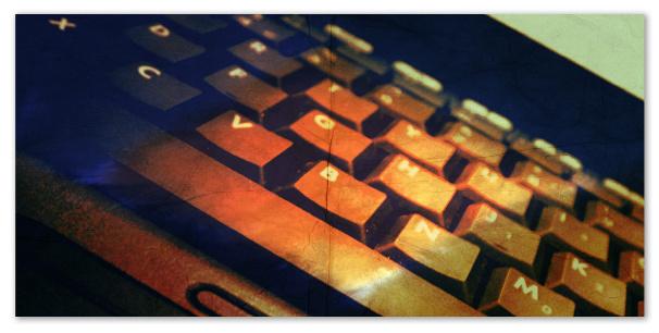 Computer - clavier - web 2.0
